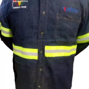 Camisas de mezclilla para seguridad